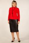 Юбка Нэнси Милада кожаная юбка большого размера