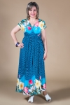 Сарафан Афина Милада длинное платье на лето для больших размеров