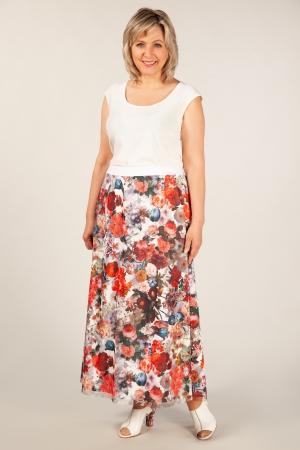 Юбка Хлоя Милада юбка с цветочным рисунком 3D