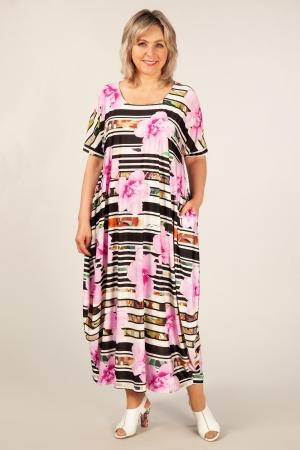 Платье Вероника Милада макси платье бохо 64 размера