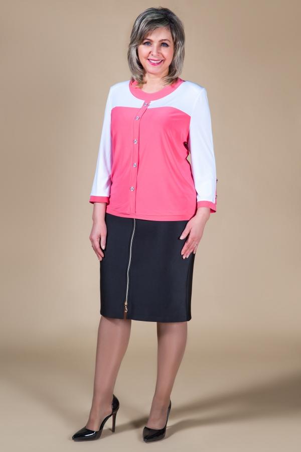 Милада блузка повседневная большого размера для женщин Блуза Доминика