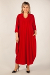 Платье Эмили Милада красное длинное платье больших размеров