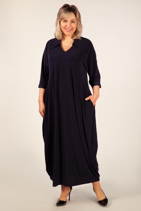Милада длинное платье 50-64 размера Платье Эмили