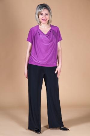 Брюки Лето Милада прямые летние брюки 50-64 размера