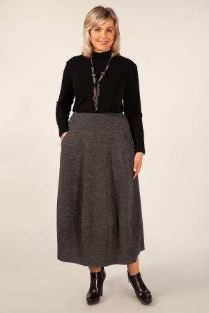 Юбка Стейси Милада юбка-колокол для полных
