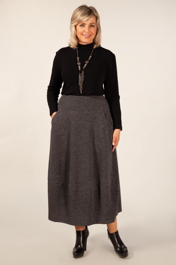 Милада юбка-колокол для полных Юбка Стейси