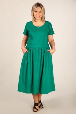 Платье Сабина Милада летнее платье хлопковое большого размера