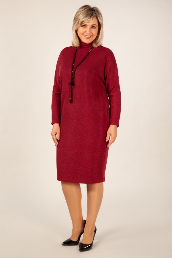 Милада фото модных нарядных платьев для полных Платье Амаретто