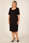 Платье Шанель Милада маленькое черное платье для полных