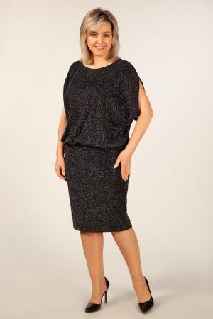 Платье Селин Милада вечернее платье с люрексом 50-64 размеров