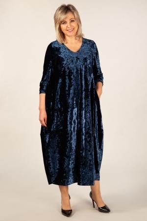 Платье Дорети Милада бархатное платье больших размеров