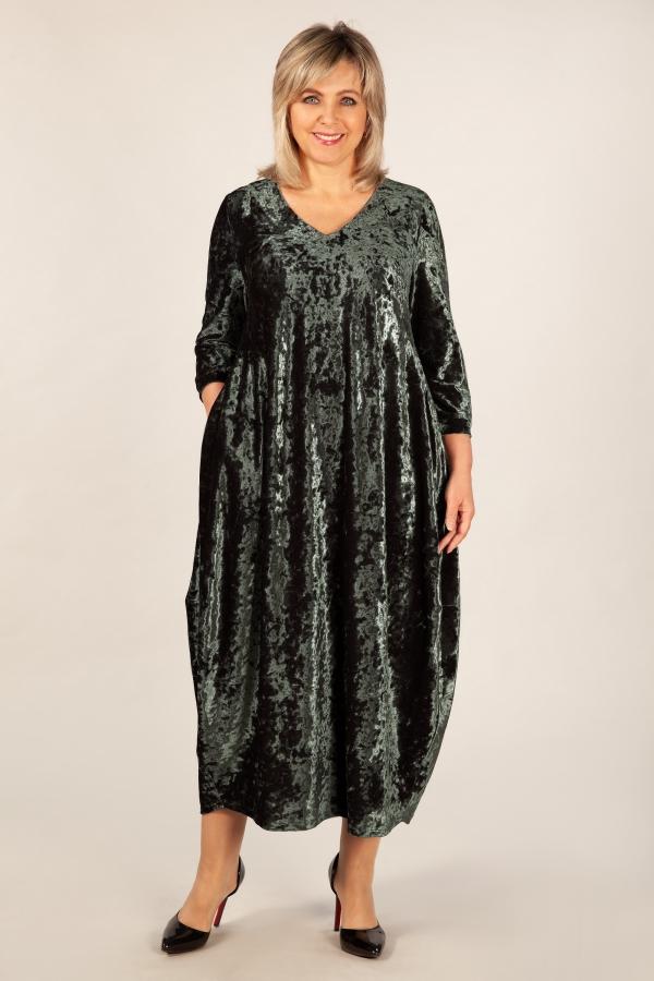 Милада бархатное платье в пол Платье Дорети