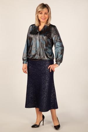 Блуза Платина Милада блузка вечерняя больших размеров