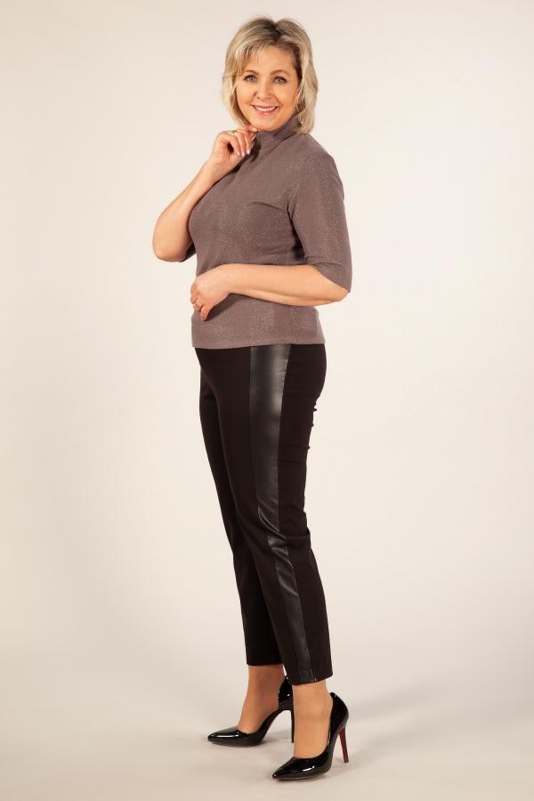 Милада фото брюки-дудочки для полных женщин Брюки Гала