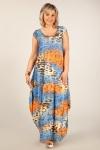 Платье Стефани Милада длинное платье для полных бохо