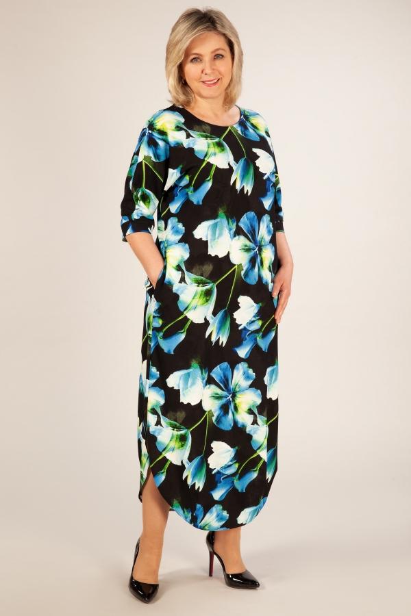 Милада платья в пол для полных женщин фото Платье Ирма