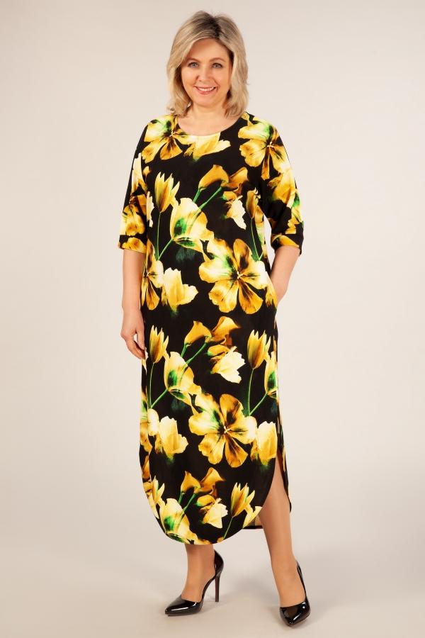 Милада длинное платье в пол больших размеров Платье Ирма