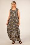 Платье Стефани Милада платье леопард больших размеров