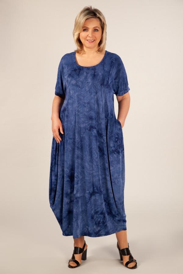 Милада фото бохо платье синее Платье Лори-2
