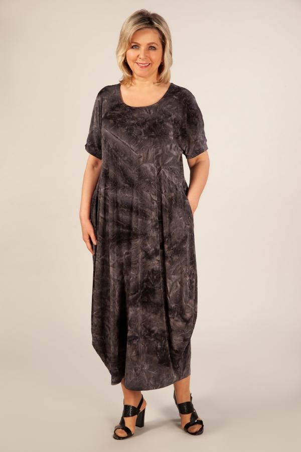 Милада серое платье бохо летнее Платье Лори-2