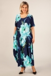 Платье Вероника-2 Милада длинное платье большие размеры фото
