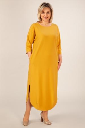 Платье Мона Милада платье в пол с разрезами