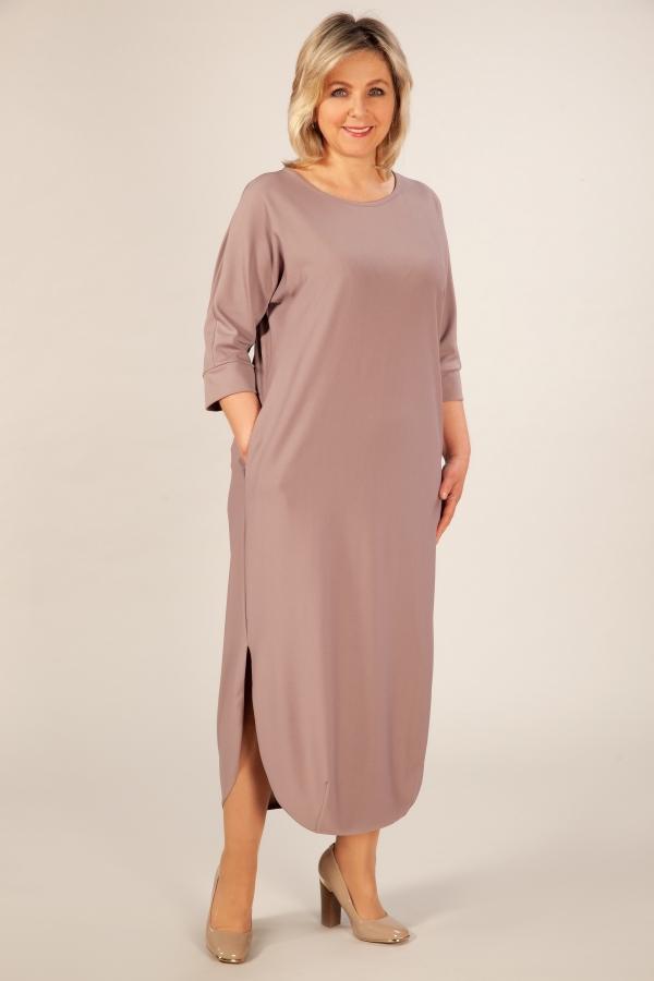 Милада платье в пол для полных Платье Мона