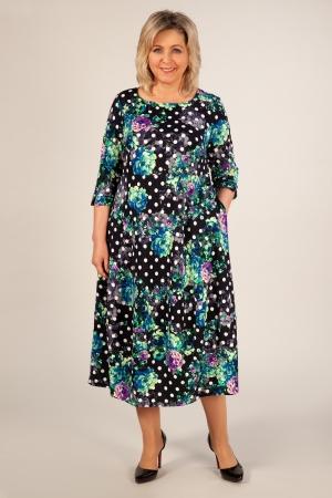 Платье Мария-2 Милада платье миди бохо для полных