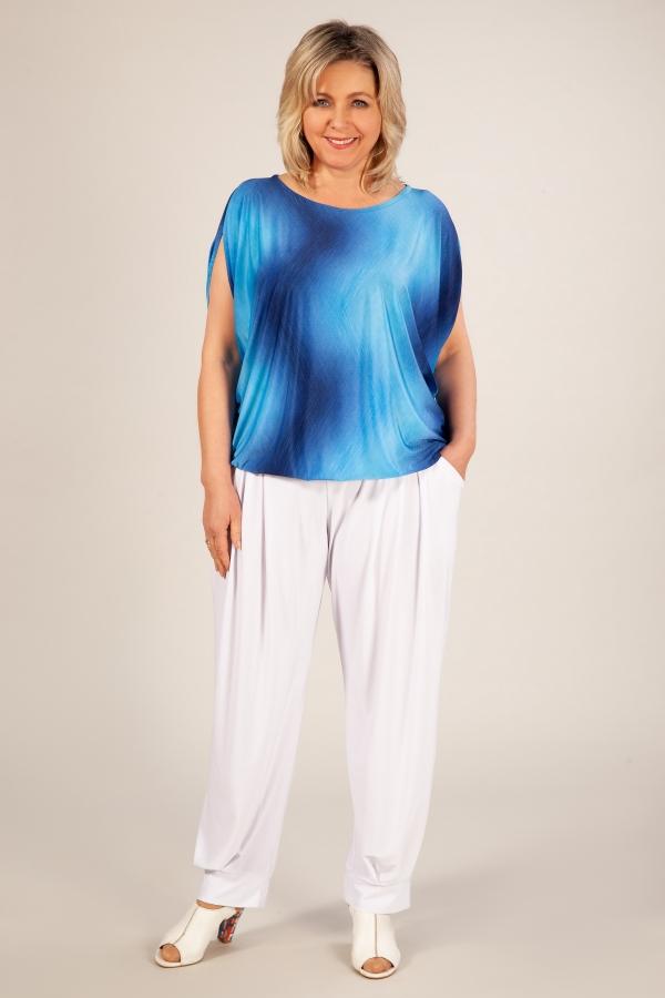 Милада блузка для полных Блуза Василина