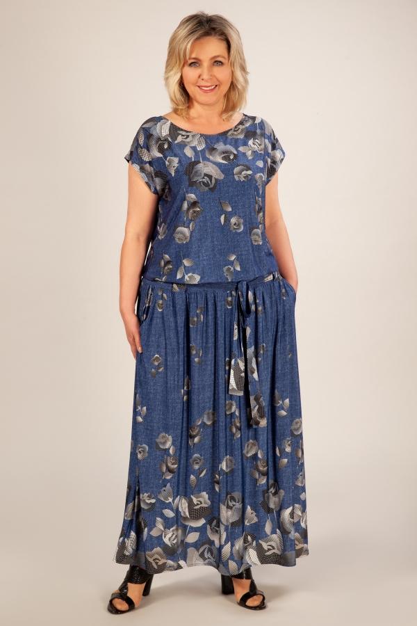 Милада платье в пол 50-64 размеров Платье Анджелина-2