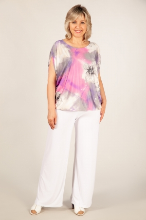 Блуза Василина Милада блузка на полную фигуру