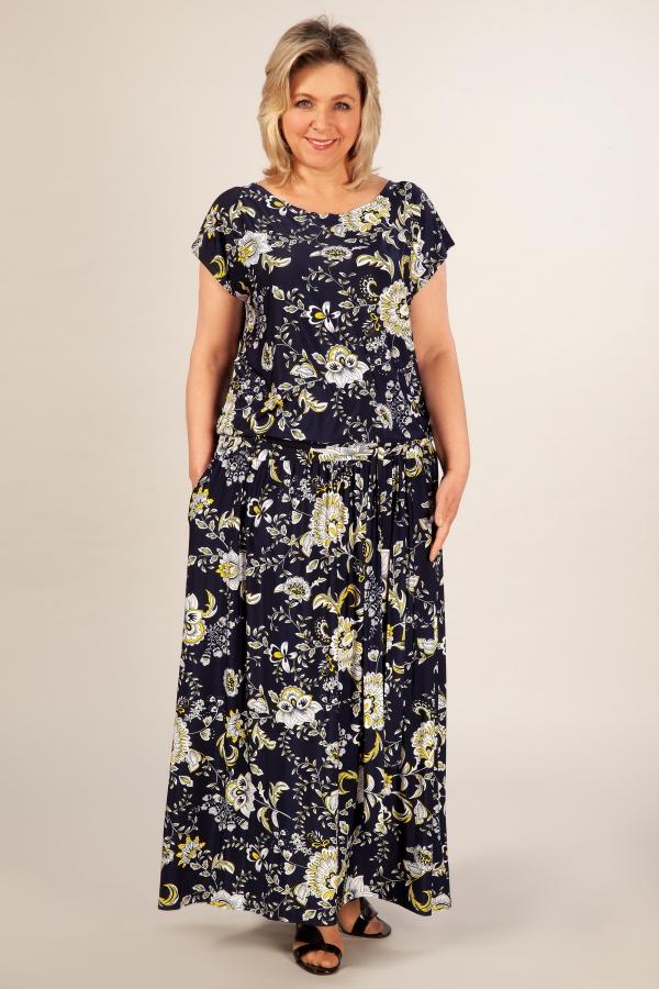 Милада летнее платье в пол Платье Анджелина-2