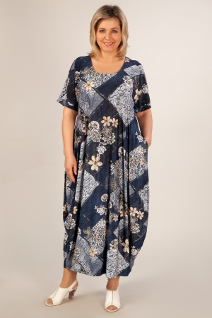 Платье Вероника-2 Милада для полных женщин