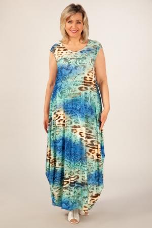 Платье Стефани Милада длинное на лето