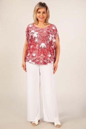 Блуза Василина Милада одежда больших размеров! Красиво, стильно, качественно! больших размеров