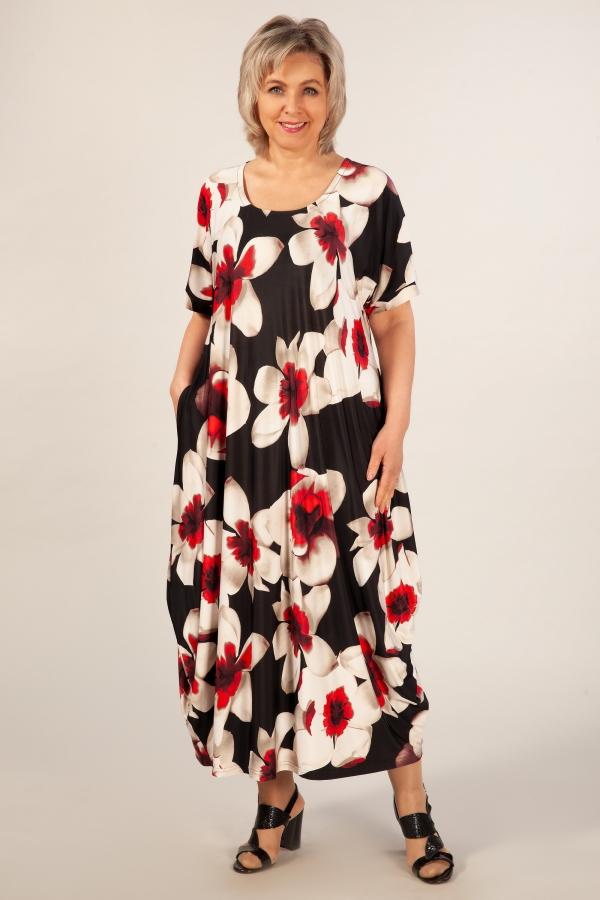 Милада 50-64 размеров Платье Вероника-2