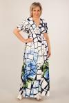 Платье Клеопатра Милада длинное для полных женщин