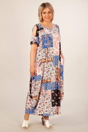 Платье Алиса Милада в бохо стиле для лета