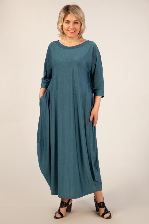 Милада длинное больших размеров Платье Эвита