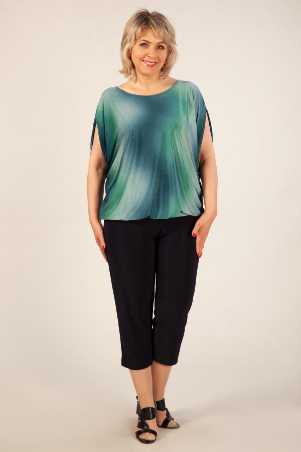 Милада для больших размеров Блуза Василина