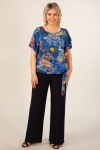 Блуза Алена Милада с завязкой