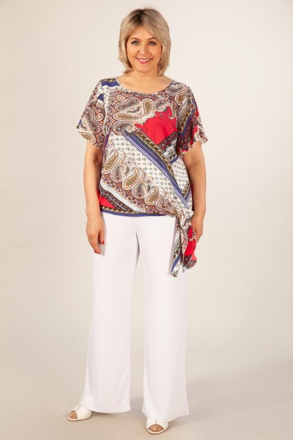 Милада для полных Блуза Алена