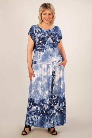 Платье Анджелина-2 Милада макси большого размера