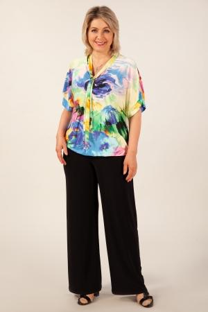 Блуза Арфа Милада неоновых цветов