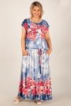 Платье Анджелина-2 Милада длинное летнее 64 размера