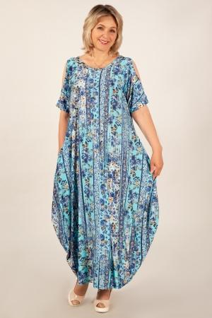 Платье Алиса Милада макси бохо
