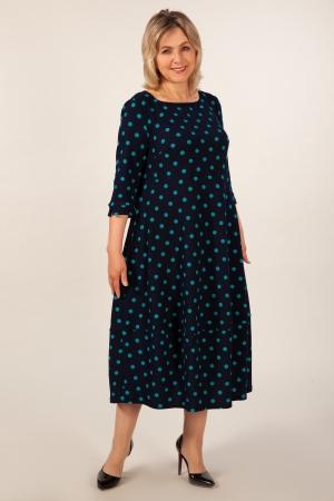 Платье Мария Милада фото платье горох больших размеров
