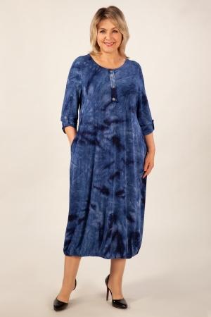 Платье Инга Милада в бохо стиле осеннее