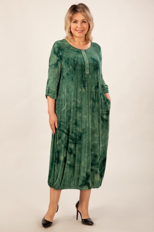 Милада для больших женщин  Платье Инга
