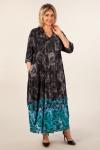 Платье Тамара Милада цвет бирюза